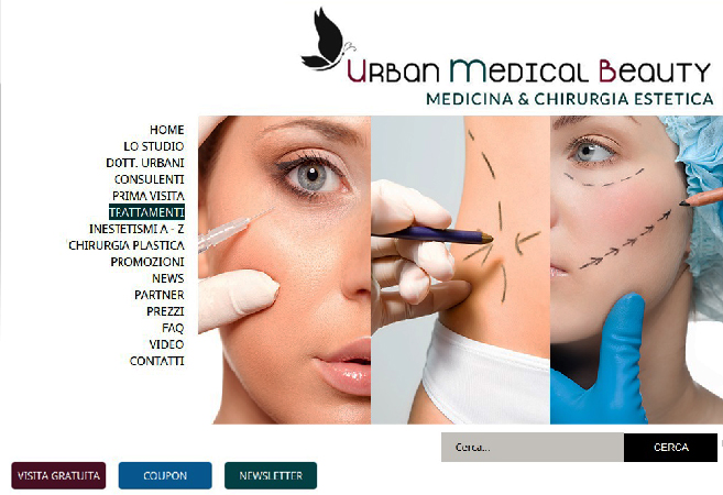 Sito Web e Web Marketing per studio di Medicina & Chirurgia Estetica