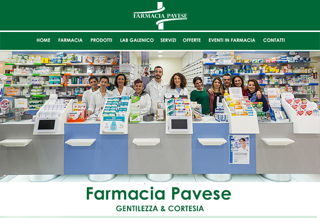 Sito Web Farmacia & Social Web Marketing