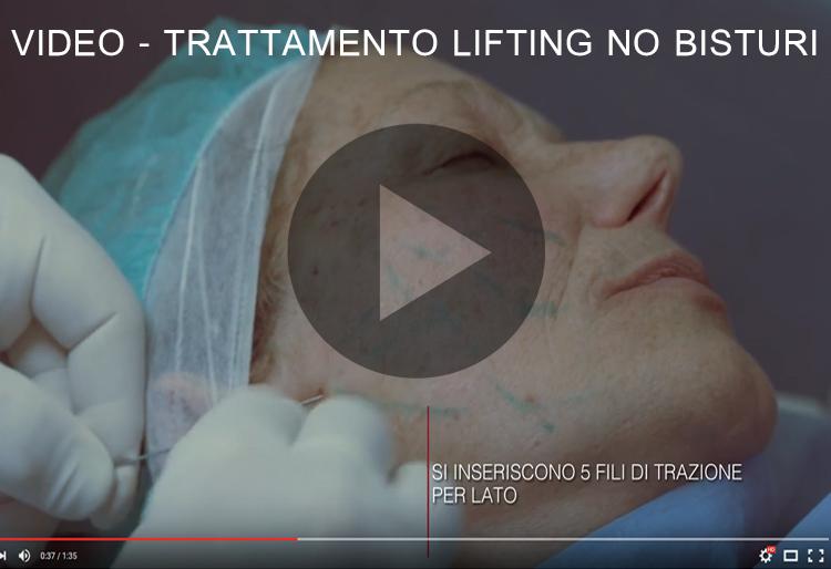 Video Promozionale Trattamento Lifting no bisturi