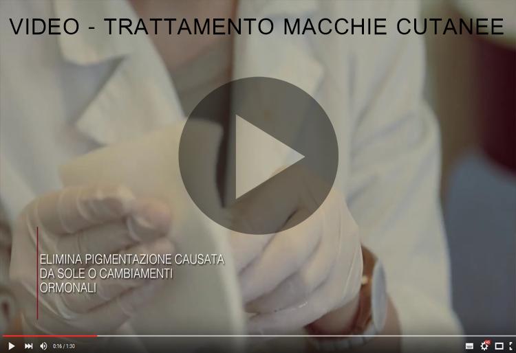 Video trattamento Dermatologico Iperpigmentazione